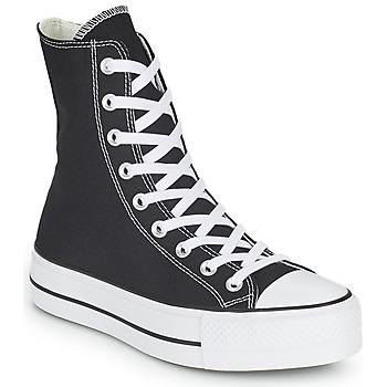 Παπούτσια Γυναίκα Ψηλά Sneakers Converse CHUCK TAYLOR ALL STAR LIFT CORE CANVAS X-HI Black