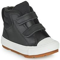 Παπούτσια Παιδί Ψηλά Sneakers Converse CHUCK TAYLOR ALL STAR BERKSHIRE BOOT SEASONAL LEATHER HI Black