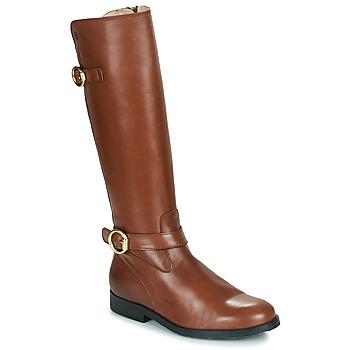 Παπούτσια Κορίτσι Μπότες για την πόλη Acebo's 9904-CUERO-T Brown