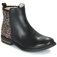 Παπούτσια Κορίτσι Μπότες Acebo's 9917VE-NEGRO-T Black