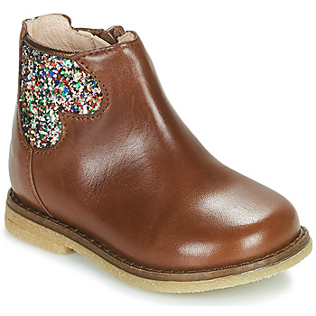 Παπούτσια Κορίτσι Μπότες Acebo's 3202-CUERO-C Brown