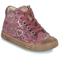 Παπούτσια Κορίτσι Ψηλά Sneakers Acebo's 5533EL-GRANADA Ροζ