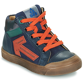Παπούτσια Αγόρι Ψηλά Sneakers Acebo's 5567-MARINO-J Marine