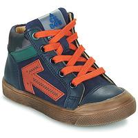 Παπούτσια Αγόρι Ψηλά Sneakers Acebo's 5567-MARINO-I Marine