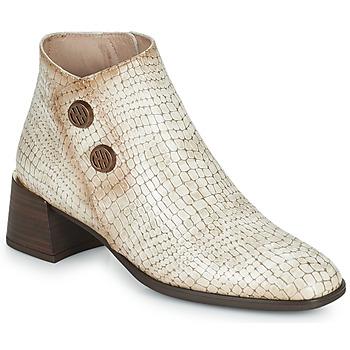 Παπούτσια Γυναίκα Μποτίνια Hispanitas ALEXA Ecru
