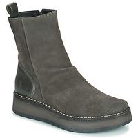 Παπούτσια Γυναίκα Μπότες Fly London RENO Grey