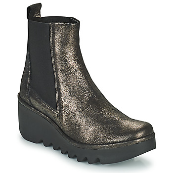 Παπούτσια Γυναίκα Μποτίνια Fly London BAGU Grey / Gold