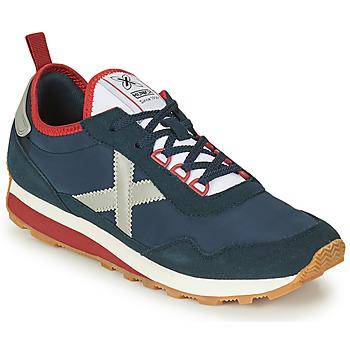 Παπούτσια Άνδρας Χαμηλά Sneakers Munich UM Μπλέ / Grey / Red