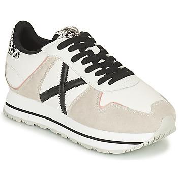 Παπούτσια Γυναίκα Χαμηλά Sneakers Munich MASSANA SKY Beige / Άσπρο / Black