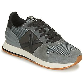 Παπούτσια Άνδρας Χαμηλά Sneakers Munich MASSANA Grey / Black