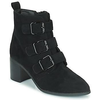 Παπούτσια Γυναίκα Μποτίνια Moony Mood PAOLA Black