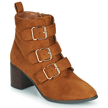 Παπούτσια Γυναίκα Μπότες για την πόλη Moony Mood PAOLA Camel