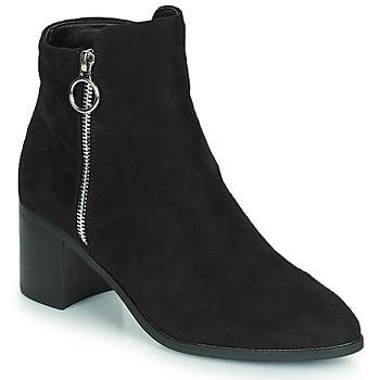 Παπούτσια Γυναίκα Μπότες για την πόλη Moony Mood PETROLIA Black