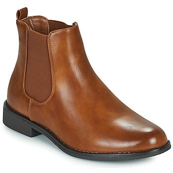 Παπούτσια Γυναίκα Μπότες Moony Mood PIRYL Camel