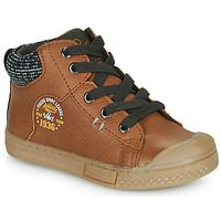 Παπούτσια Αγόρι Ψηλά Sneakers Mod'8 HERMIAN Cognac