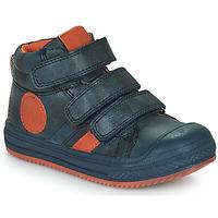 Παπούτσια Αγόρι Ψηλά Sneakers Mod'8 TALYE Marine / Orange