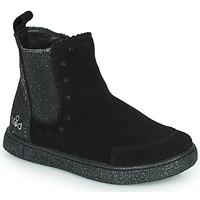 Παπούτσια Κορίτσι Μπότες Mod'8 BLANOU Black / Glitter
