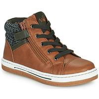 Παπούτσια Αγόρι Ψηλά Sneakers Mod'8 KYNATA Cognac