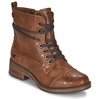 Παπούτσια Γυναίκα Μπότες Mustang 1293501 Brown