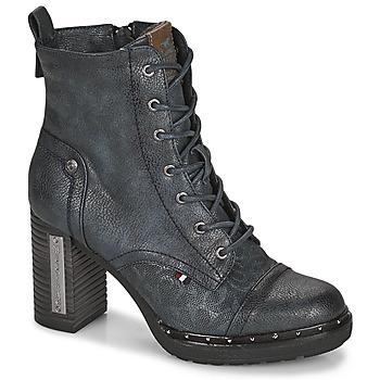Παπούτσια Γυναίκα Μποτίνια Mustang 1336502 Marine