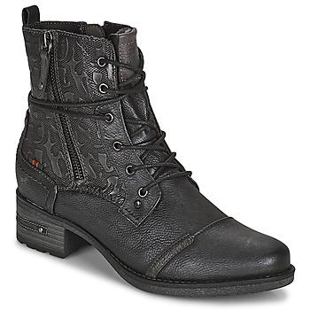 Παπούτσια Γυναίκα Μπότες Mustang 1229508 Black