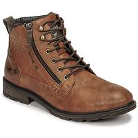 Παπούτσια Άνδρας Μπότες Mustang 4140501 Cognac