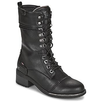 Παπούτσια Γυναίκα Μπότες για την πόλη Mustang 1402501 Black