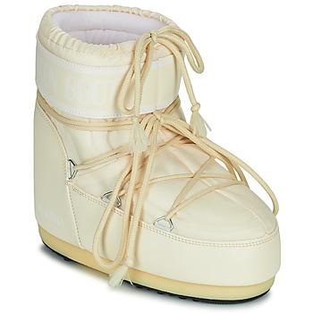 Παπούτσια Γυναίκα Snow boots Moon Boot MOON BOOT ICON LOW 2 Κρεμ
