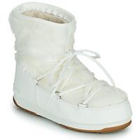 Παπούτσια Γυναίκα Snow boots Moon Boot MOON BOOT MONACO LOW FUR WP 2 Άσπρο