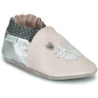 Παπούτσια Κορίτσι Σοσονάκια μωρού Robeez  Ροζ / Silver
