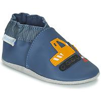 Παπούτσια Αγόρι Σοσονάκια μωρού Robeez YARD ROAD Μπλέ / Yellow