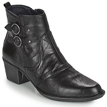 Παπούτσια Γυναίκα Μποτίνια Dorking DALMA Black