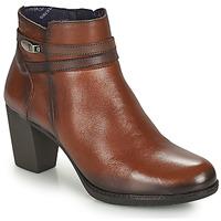 Παπούτσια Γυναίκα Μποτίνια Dorking EVELYN Brown