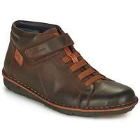 Παπούτσια Άνδρας Ψηλά Sneakers Fluchos ALFA Brown
