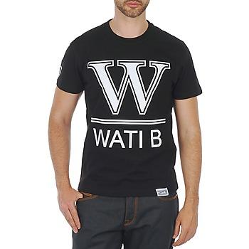 Υφασμάτινα Άνδρας T-shirt με κοντά μανίκια Wati B TEE Black