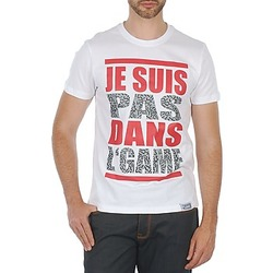 Υφασμάτινα Άνδρας T-shirt με κοντά μανίκια Wati B TEE άσπρο