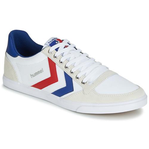 Παπούτσια Χαμηλά Sneakers Hummel TEN STAR LOW CANVAS άσπρο / Red / μπλέ