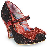 Παπούτσια Γυναίκα Γόβες Irregular Choice FANCY THAT Black / Red