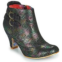 Παπούτσια Γυναίκα Μποτίνια Irregular Choice THINK ABOUT IT Black / Multicolour