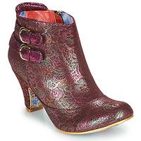 Παπούτσια Γυναίκα Μποτίνια Irregular Choice THINK ABOUT IT Bordeaux