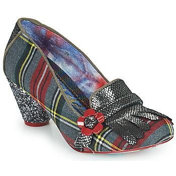 Παπούτσια Γυναίκα Γόβες Irregular Choice HIGHLAND HAVEN Grey / Red
