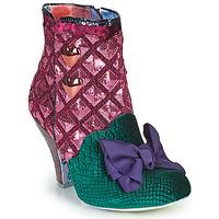 Παπούτσια Γυναίκα Μποτίνια Irregular Choice DAINTY DARLING Ροζ / Green