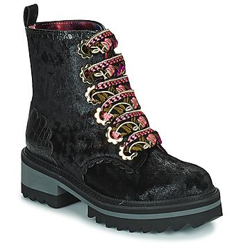 Παπούτσια Γυναίκα Μπότες Irregular Choice MORNING STROLL Black