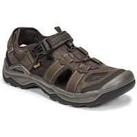 Παπούτσια Άνδρας Σανδάλια / Πέδιλα Teva M OMNIUM 2 LEATHER Brown