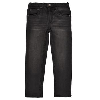 Υφασμάτινα Αγόρι Skinny Τζιν  Levi's 512 SLIM TAPER Black