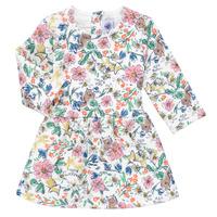 Υφασμάτινα Κορίτσι Κοντά Φορέματα Petit Bateau ROPPAL Multicolour