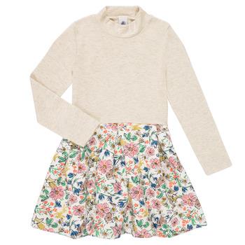 Υφασμάτινα Κορίτσι Κοντά Φορέματα Petit Bateau WESSRI Multicolour