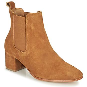 Παπούτσια Γυναίκα Μπότες για την πόλη Levi's DELILAH CHELSEA Brown