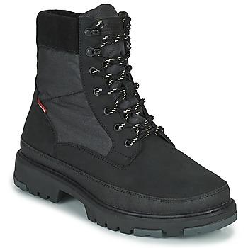 Παπούτσια Άνδρας Μπότες Levi's TORSTEN QUILTED Black