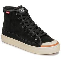 Παπούτσια Άνδρας Ψηλά Sneakers Levi's SQUARE HIGH Black